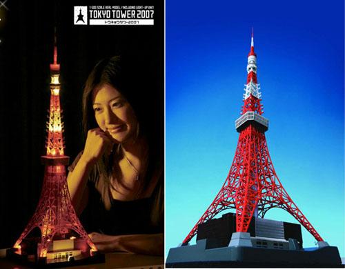 世嘉东京铁塔模型
